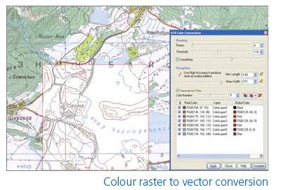 Vectorizare planuri GIS si cadastru cu WiseImage