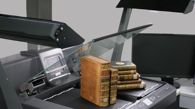 Scanner de carti