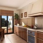 Idee de bucatarie decorata cu tapet printabil