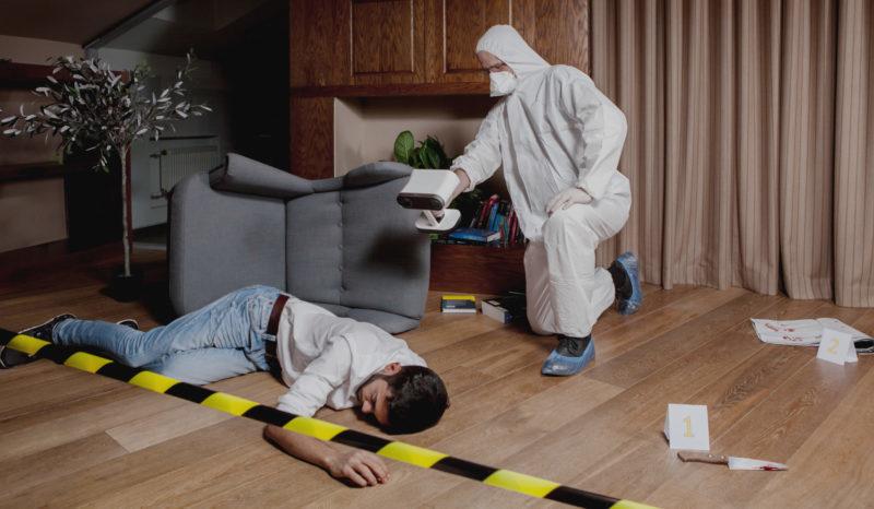 Artec Leo - Investigatii criminalistice