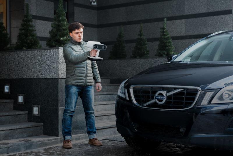 Artec Leo Scanare Volvo