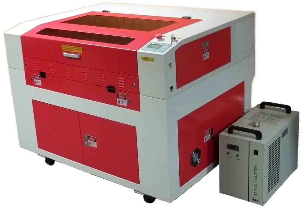 Gravator laser CO2 SpotMaster SLG-9060 pentru acril, lemn, piele, sticla