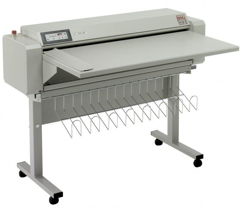 Masini de pliat documente A0 RIG801 pentru automatizarea fluxului de lucru