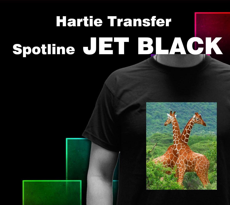 Hartie transfer Spotline JET Black