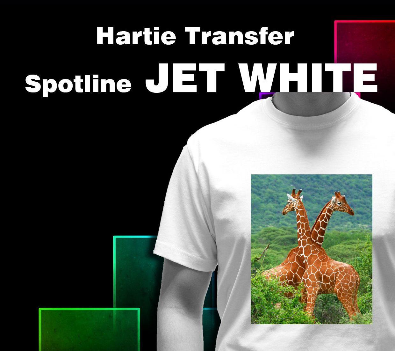 Hartie transfer Spotline JET white