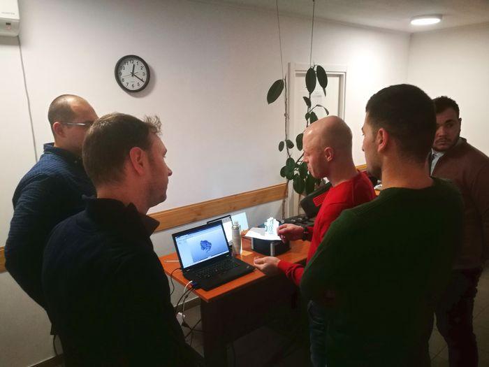 Training pentru procesarea unui model 3D
