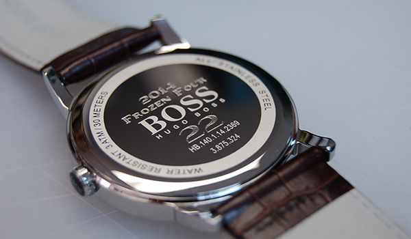 Marcare ceas cu laser fiber