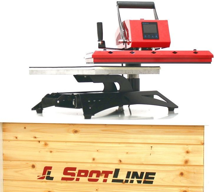Presa termica SpotLine 3805, swing-away