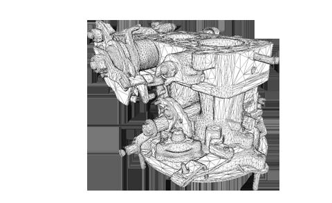 Utilizare scanner 3D in aplicatii industriale