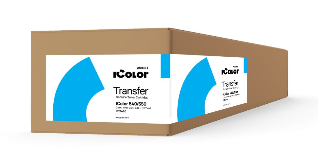 ICT540C iColor 540/550 Cyan toner cartridge STD Yield (3,000 pages)