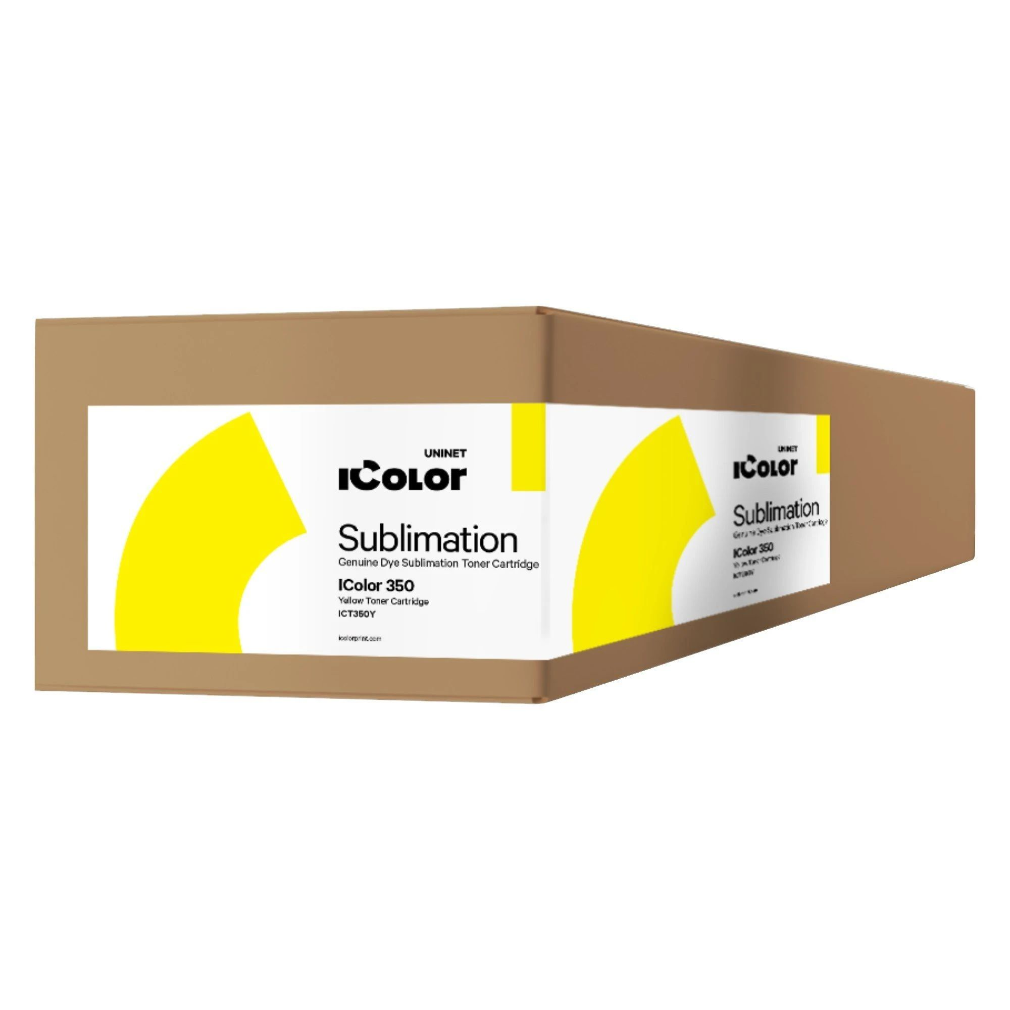 ICT350Y iColor 350 Yellow Dye Sublimation Toner Cartridge (2,500 pages)