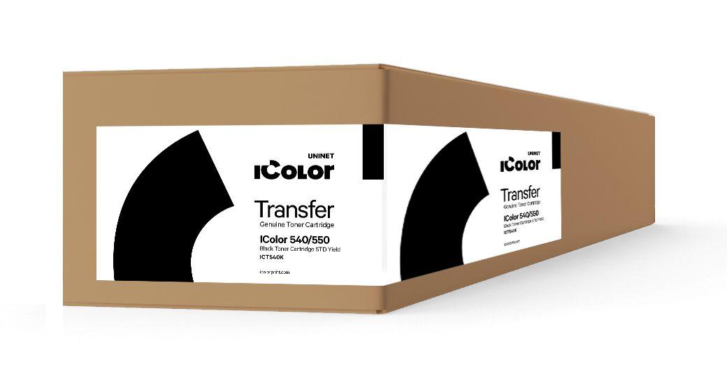 ICT540K iColor 540/550 Black toner cartridge STD Yield (3,000 pages)