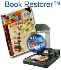 Software Book Restorer pentru refacerea si restaurarea cartilor, imaginilor scanate