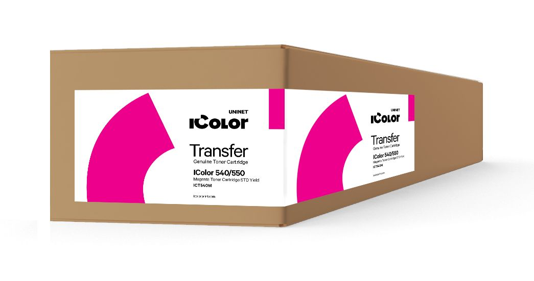 ICT540M iColor 540/550 Magenta toner cartridge STD Yield (3,000 pages)