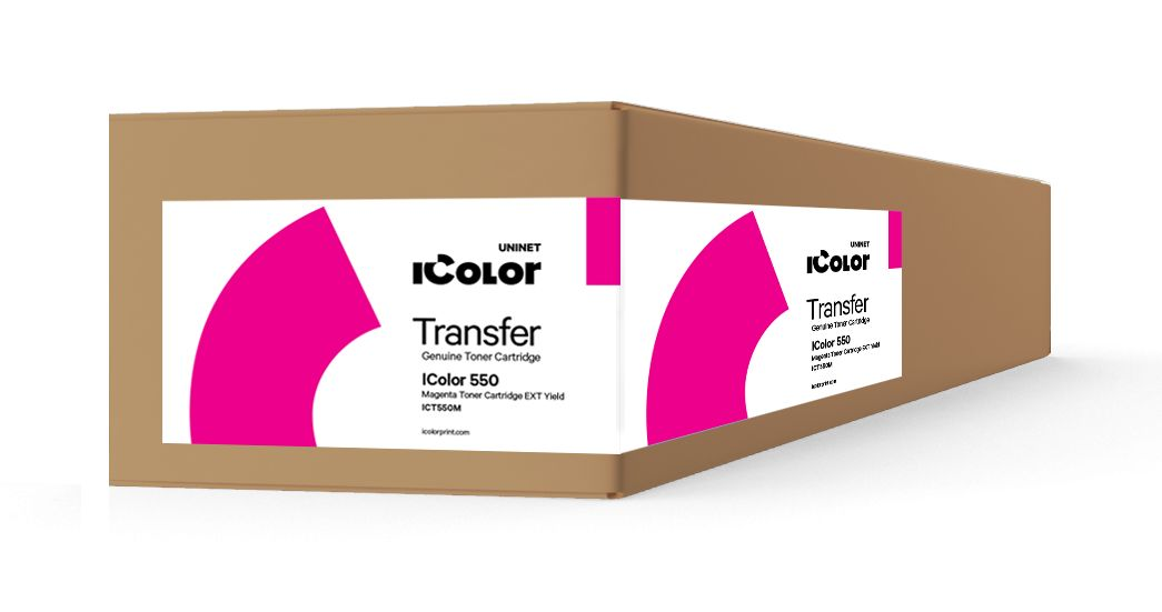 ICT550M iColor 550 Magenta toner cartridge EXT Yield (7,000 pages)
