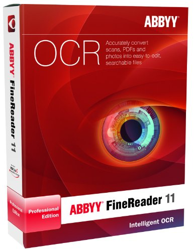Software OCR Abby Fine Reader Professional Edition 11