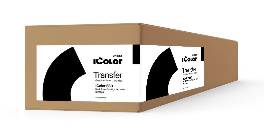 ICT550K - iColor 550 Black toner cartridge EXT Yield (7,000 pages)