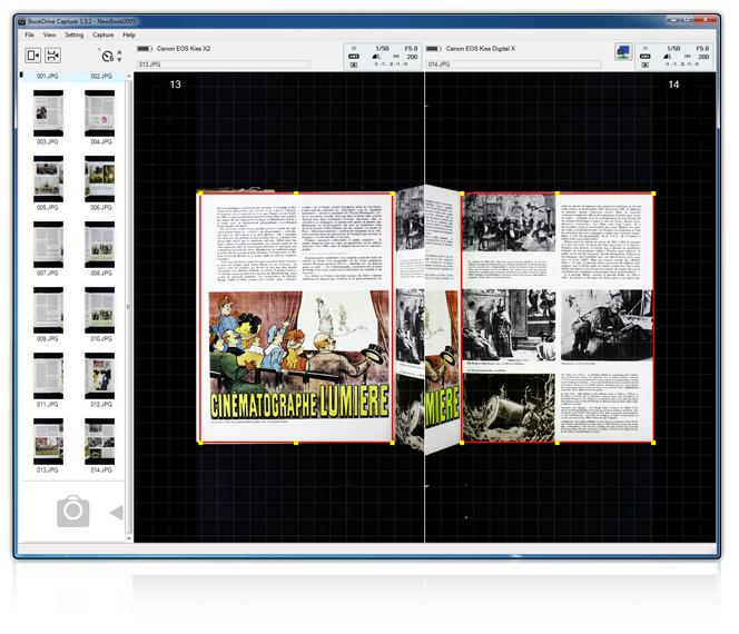 Software scanare, scanner de ziare