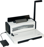 Masina de indosariat semi-automata cu spirale de plastic SL-9028A